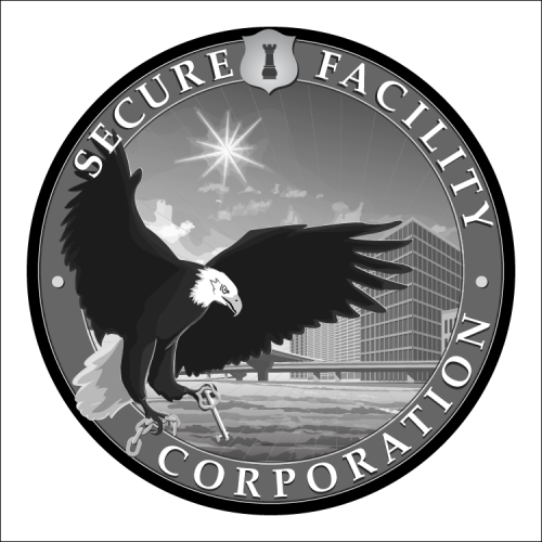 Secure Facility: Brand Design (City Harbor Seal)